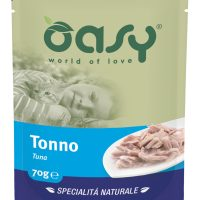 Пауч за котка Oasy Cat Specialita Naturale риба тон, 70 гр