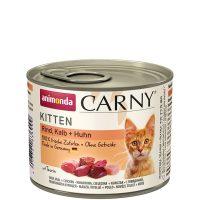 Консерва за котка Animonda Carny Kitten 100% месо за малки и млади котенца – теле + пиле, 200гр