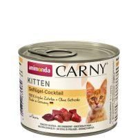 Консерва за котка Animonda Carny Kitten 100% месо за малки и млади котенца – птиче коктейл, 200гр