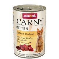 Консерва за котка Animonda Carny Kitten 100% месо за малки и млади котенца  – говеждо + птиче коктейл, 400гр