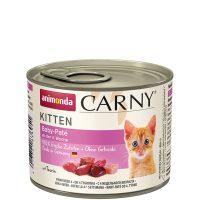 Консерва за котка Animonda Carny Kitten 100% месо за малки и млади котенца –  стартер за малки котенца над 4 седмици, 200 гр