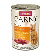 Carny Adult телешко + пиле, 400 гр,