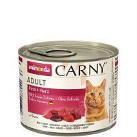 Animonda Carny Adult телешко + сърца, 400 гр,