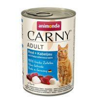 Animonda Carny Adult треска + корени от магданоз, 400 гр