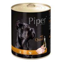 Piper премиум консервирана храна за кучета – пъдпъдък- 400 гр