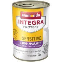 Консерва за кучета Animonda Integra Protect Sensitive с агнешко и амарант –  400 гр