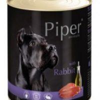 Piper премиум консервирана храна за кучета,   – заек – 800 гр