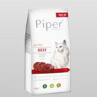 Piper Cat – гранулирана храна за котки с прясно говеждо месо, 3 кг