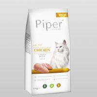Piper Cat – гранулирана храна за котки с прясно пилешко месо, 3 кг