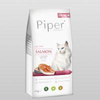 Piper Cat – гранулирана храна за котки с прясна сьомга, 3 кг