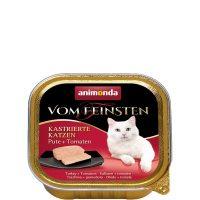 Von Feinsten Castrated за кастрирани котки с пуйка + домати, 100 гр