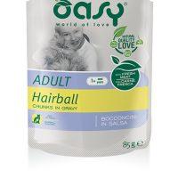 OASY Adult Bocconcini Hairball 85гр – пауч против топки косми в стомаха, 12бр в стек