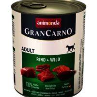 Animonda GranCarno® Adult говеждо + дивеч, 800 гр