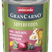 GranCarno Superfoods – един източник на протеин плюс подбрани суперхрани –  говеждо, червено цвекло, капини, глухарче-400гр