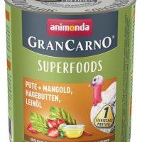 GranCarno Superfoods – един източник на протеин плюс подбрани суперхрани – пуйка, манголд, шипки, ленено масло- 400гр