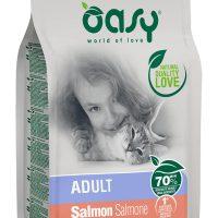 Храна за котка Oasy Cat Adult Salmon сьомга – 7,5 кг