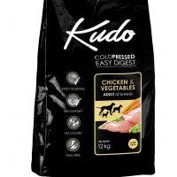 Храна за кучета Kudo Low Grain Chicken Adult от всички породи над 1 год -12+3 кг