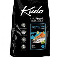 Храна за кучета Kudo Low Grain Adriatic Fish Meduim-Maxi Adult  над 1 год – 3 кг