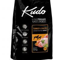 Храна за кучета Kudo Low Grain Turkey/Duck Medium&Maxi Adult от средни и едри породи над 1 год – 12 кг