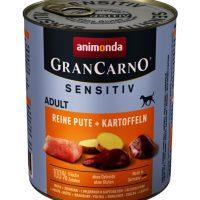 Animonda GranCarno® Sensitiv – храна за чувствителни кучета – пуешко -800 гр