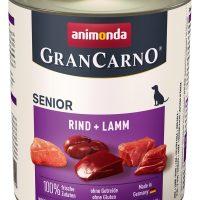 Animonda GranCarno® Senior говеждо + агне – 6 бр в стек, 800 гр