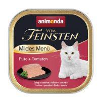 Animonda –Vom Feinsten Mild Menu – 100гр кастрирани котки – пуйка + домати