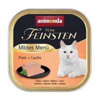 Animonda –Vom Feinsten Mild Menu – 100гр кастрирани котки – пуйка + сьомга