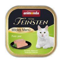 Animonda –Vom Feinsten Mild Menu – 100гр кастрирани котки – чисто пуешко месо