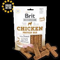 Brit Jerky Snack – Protein bar with Insect – лакомство за кучета протеинови барчета с пилешко и насекоми -80 гр
