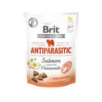 Brit Care Dog Functional Snack Antiparasitic Salmon – антипаразитно лакомство със сьомга и лайка – 150гр.