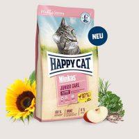 Храна за котки Happy Cat Минкас Джуниър с пилешко – 10 кг