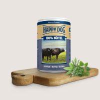 Храна за кучета Happy Dog Biffel Pur – Консерви за кучета със 100% биволско – 200 гр