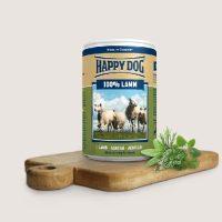 Храна за кучета със 100% агнешко месо – Happy Dog Lamm Pur – 200 гр