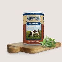 Храна за кучета със 100% говеждо месо – Happy Dog Rind Pur консерва – 200 гр