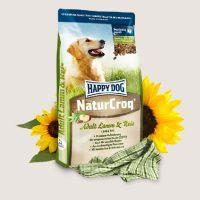 Премиум храна за кучета Happy Dog – Natur Croq Lamm & Reis – храна за кучета, склонни към алергични прояви – 1 кг
