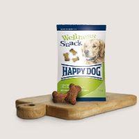 """Бисквитки за кучета Happy Dog """"Снакс с билки"""" – с пилешко и агнешко – 100 гр"""