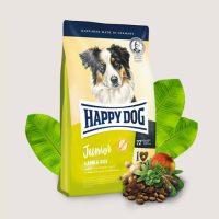 Храна за кучета Happy Dog Junior Lamb & Rice-Пълноценна храна за млади кучета над 7 –месечна възраст-предотвратяващо 25% от нарушенията във фазата на развитие, за растящи кученца от едри породи – 1 кг