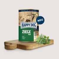 Храна за кучета Happy Dog 100% месо от  коза, без соя, оцветители, зърнени продукти, консерванти-0,4 кг