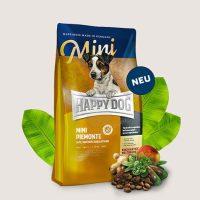 Храна за кучета Happy Dog Supreme Sensible Mini Piemont – за дребни кучета  с патешко, морска риба и благороден кестен – 1 кг