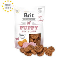 Brit Jerky Snack – Turkey Meaty coins for Puppies – лакомство за малки кученца с пуешко 80 гр