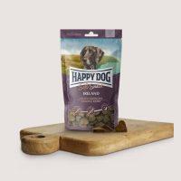 Бисквитки за кучета Happy Dog Мек снакс Ирландия – Със заешко и сьомга – 100 гр