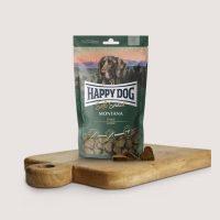 Бисквитки за кучета Happy Dog Мек снакс Монтана – конско месо-100 гр