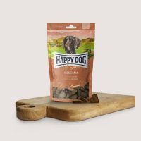 Бисквитки за кучета Happy Dog Мек снакс Тоскана С патешко и сьомга – 100 гр