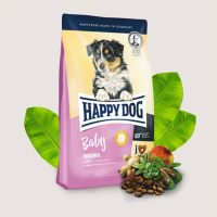 Храна за кучета Happy Dog Junior Original- Пълноценна храна за млади кучета над 7 –месечна възраст – 4 кг
