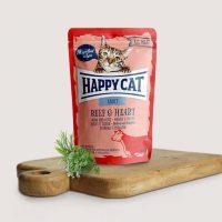 Happy Cat Adult – с говеждо и сърца-  85гр