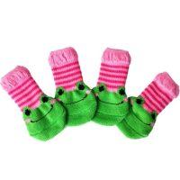 Чорапи за кучета и котки, нехлъзгащи се , 4 броя