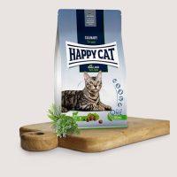 Храна за котки Happy Cat Weide-Lamm за стерилизирани котки, с агнешко – 10 кг