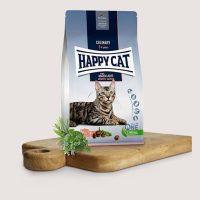 Храна за котки Happy Cat Atlantik-Lachs   храна за стерилизирани котки, с атлантическа сьомга – 10 кг