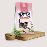 Хепи Кет Кулинари Китън пилешко – кусна храна за котенца с пилешко месо – 4 кг