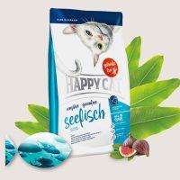 Храна за котки Happy Cat Sensitive Seafish- с морска риба -4 кг